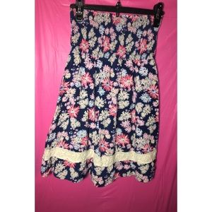 Roxy strapless summer dress